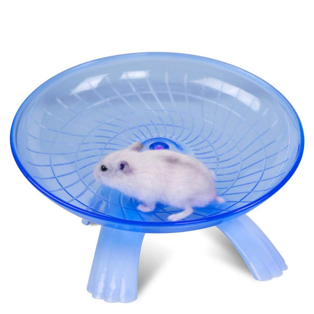 Best Quality - Toys - Colors Plastic Small Pet Toy Funny Hamster Mouse Running Disc Flying Saucer Exercise Wheel Small Animal Jogging Plate Toys - by VietFA - 1 PCs by VietFA