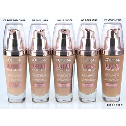 LOréal Paris Make-Up Designer Lumi Magique R4 Rose Beige base de maquillaje