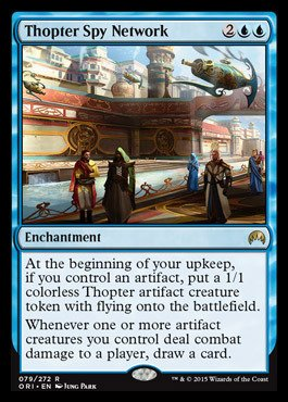 Magic: the Gathering - Thopter Spy Network - Origins