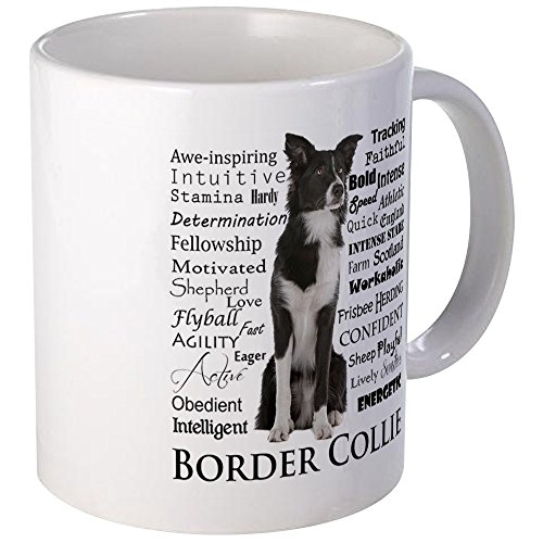 - CafePress Border Collie Traits Mugs Unique Coffee Mug, Coffee Cup