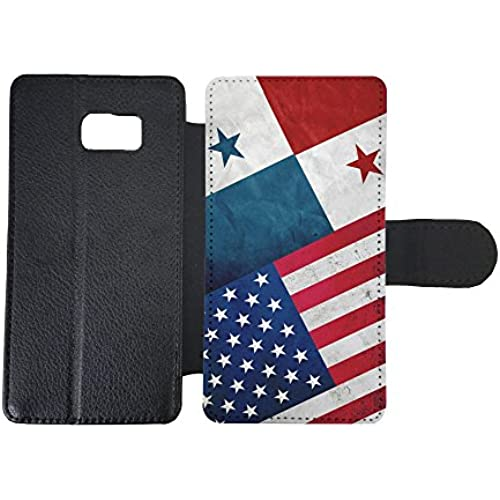 Samsung Galaxy S7 Wallet Case By InfoposUSA Panama USA flag Sales