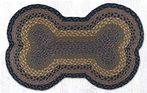 Earth Rugs DB-LG099 Dog Bone Shaped Rug, 18 by 28
