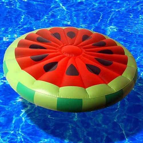 Amazon.com : Giant Inflatable Watermelon Pool Float Raft, Swimming Float Lounger Seat Summer Beach Party Toy Diameter 143Cm Ourdream : Sports & Outdoors