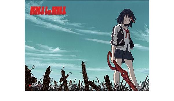"""Anime KILL la KILL manga Wall Scroll Poster cosplay8/""""x11/"""" B"""