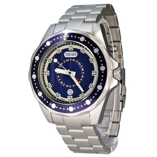 Nautec No Limit Men's Watch(Model: OC QZ-GMT/STSTBLBL)