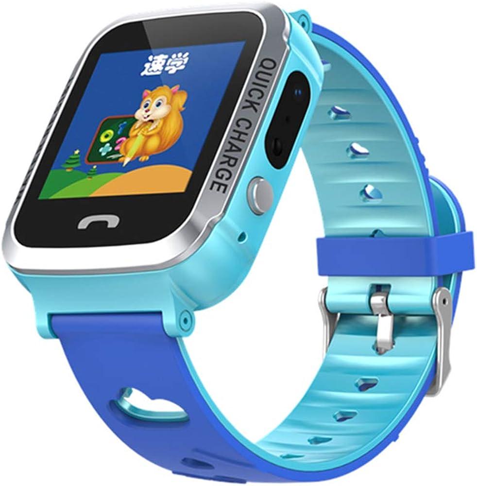 MINGRONG Reloj Inteligente para niños Tracker Reloj Impermeable ...