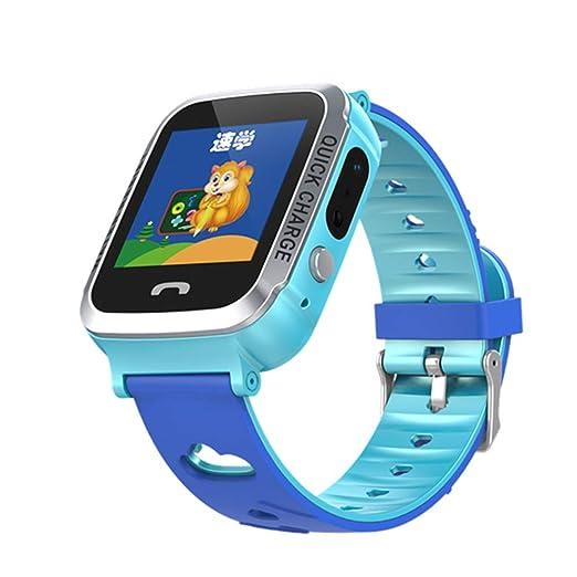 MINGRONG - Reloj de Pulsera Inteligente para niños, con Alarma SOS ...