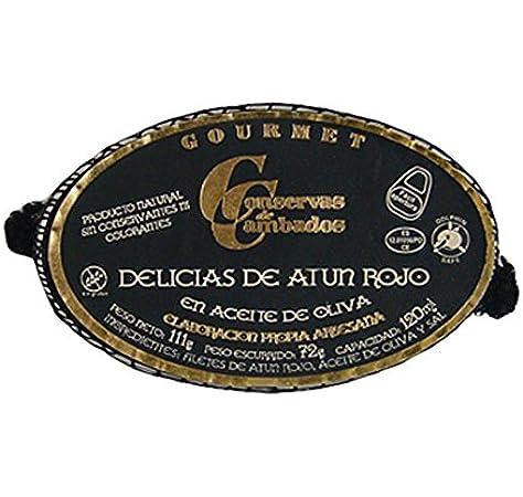 Conservas Cambados.Delicias de atun rojo en aceite de oliva: Amazon.es: Alimentación y bebidas