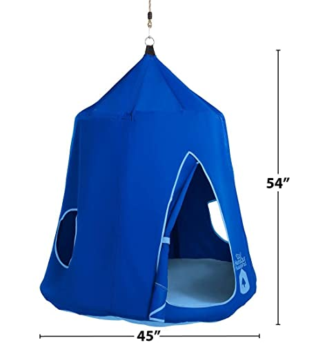 great hanging tent for school-aged children