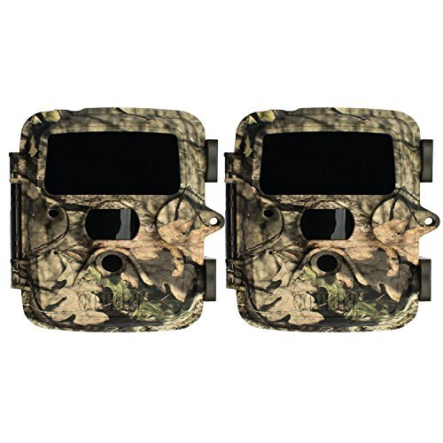Covert Extreme Black HD 60 Digital Trail Game Camera (Mossy Oak) -- Two Pack