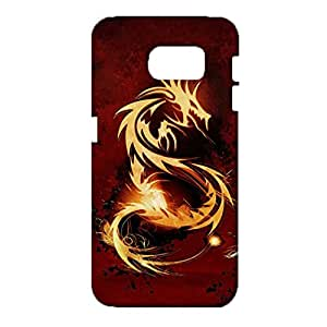Samsung Galaxy S6 Phone Case Protective 3D Design Cover Case Dragon Chinese Elements Pattern Back Cover for Samsung Galaxy S6