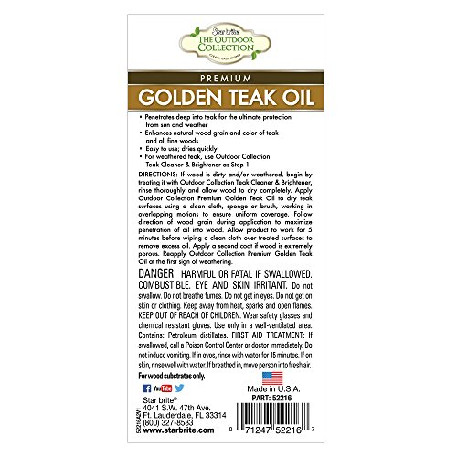 Buy outdoor teak oil