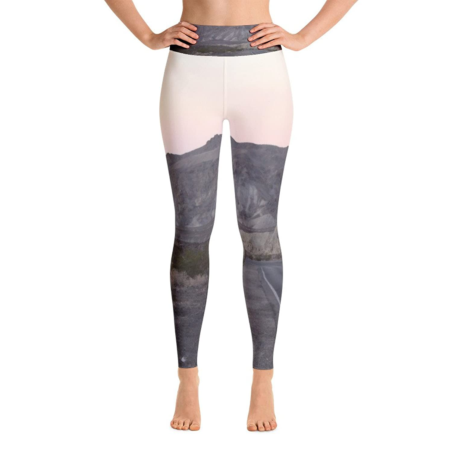 Mountain Inspired Yoga Leggings. Pants. Print. Nature. Mother Nature Inspired Clothing.