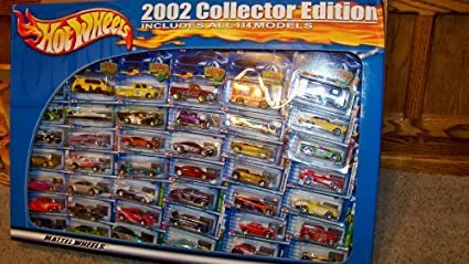 Amazon Hot Wheels 2002 Collector Set All 114 Cars NIB Unopened