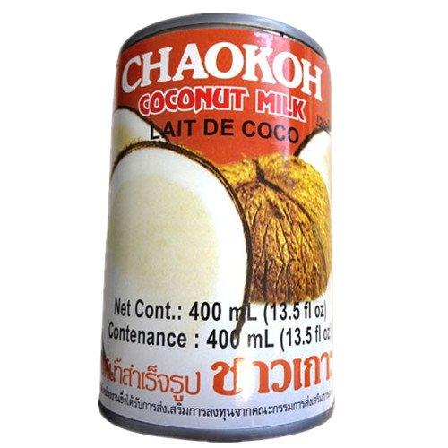 chaokoh leche de coco - 24 latas x 400 ml: Amazon.es: Alimentación y bebidas