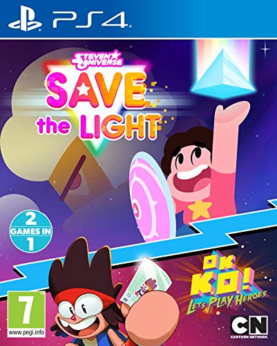 Steven Universe Save The Light And OK K.O.! Lets Play Heroes (PS4) (Steven Universe Save The Light Nintendo Switch)