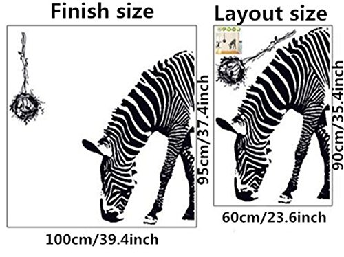 Zebra Decals - 6