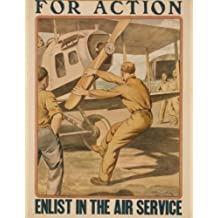 1917 poster For action enlist in the Air Service / Otho