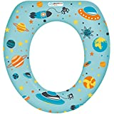 Redutor para Vaso Sanitário Soft Seat Menino Multikids Baby - BB210, Multikids Baby, Azul