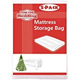 THETIS Homes (2 Pack) Mattress Bag for Moving and Storage, Fits Queen Size by