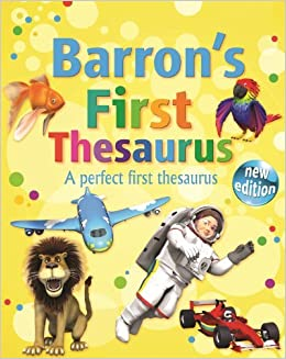 Book Barron's First Thesaurus by Andrew Delahunty (2014-07-01)