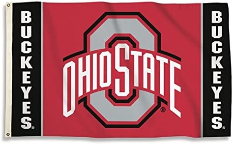 3x5 Nylon Ohio State Flag 3X5 New Ohio State Banner 3X5 OH State Flag US Made