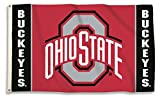 OHIO STATE BUCKEYES 3′ x 5′ Flag For Sale