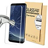 Galaxy S8 Screen Protector,Samsung S8 Tempered Glass,Galaxy S8 Glass Sreen Protector Full Coverage,Candywe HD Clear Anti Bubble Screen Protector for Galaxy S8 5.8""