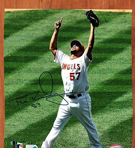 (Autographed Signed 8x10 Photo Francisco Rodriguez Angels - Certified Authentic )