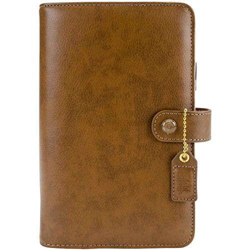 Webster's Pages Walnut Personal Planner Binder (WPCP001-B) by Webster's Pages
