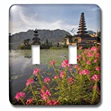Danita Delimont - Lakes - Sunrise in Lake Bratan, Bali, Indonesia. - Light Switch Covers - double toggle switch (lsp_225753_2)
