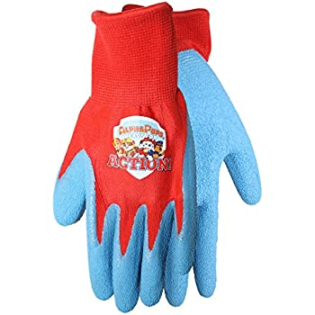 G & F 5013M JustForKids Kids Genuine Leather Work Gloves