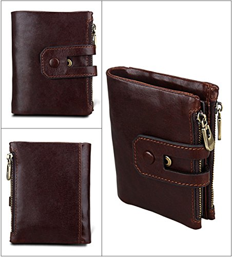 Review Seaoeey Men's Wallet Anti-Theft