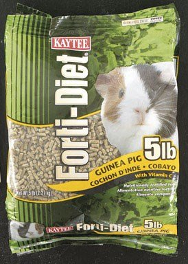 - Kaytee Forti Guinea Pig Food, 5 Lb
