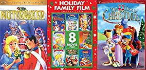 Classic Traditional Animated Chrsitmas 10-Movie Pack for the Whole Family including The Nutcracker, 12 Days of Christmas and Eight More You Will Surely Love Bundle