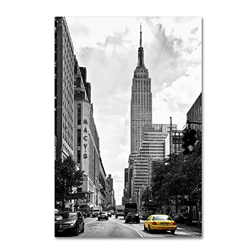 Living in New York by Philippe Hugonnard, 12x19-Inch Canvas Wall - In New Macy York