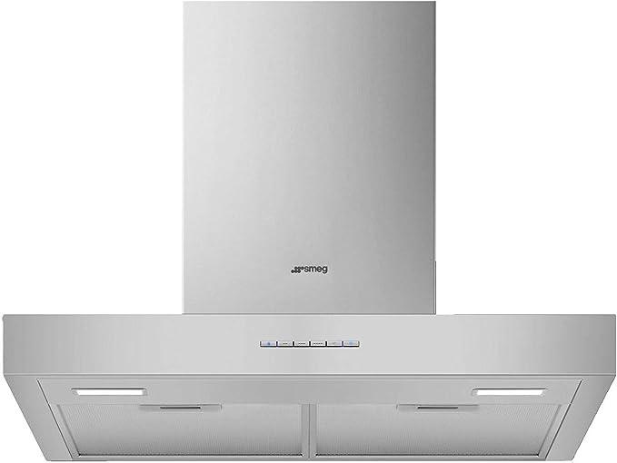 Campana Smeg Kbt600xe Decorativa 60cm Inox: Amazon.es: Grandes electrodomésticos