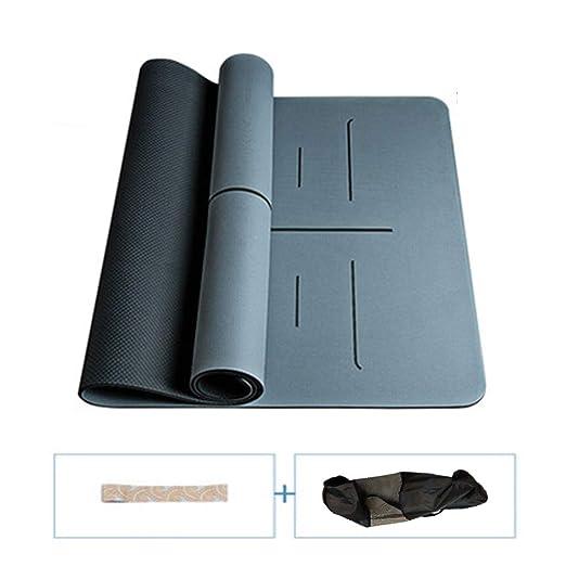 NLHPB Aptitud Yoga Mat Pad Mate multifunción Espuma con la ...