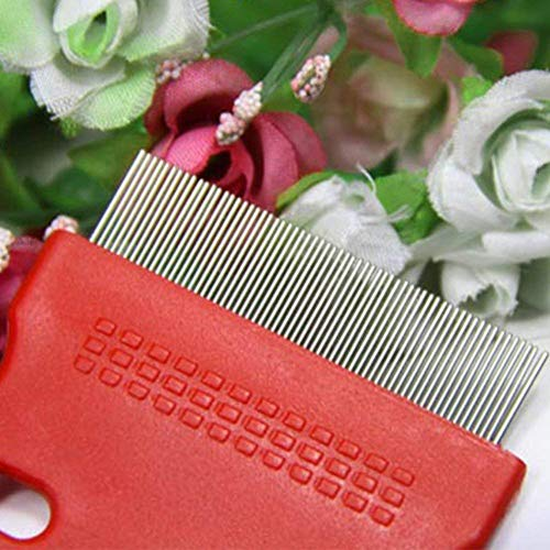 Topbeu 2PCS Pet Dog Cat Flea Combs Fine Teeth Grooming Tool by Topbeu (Image #5)