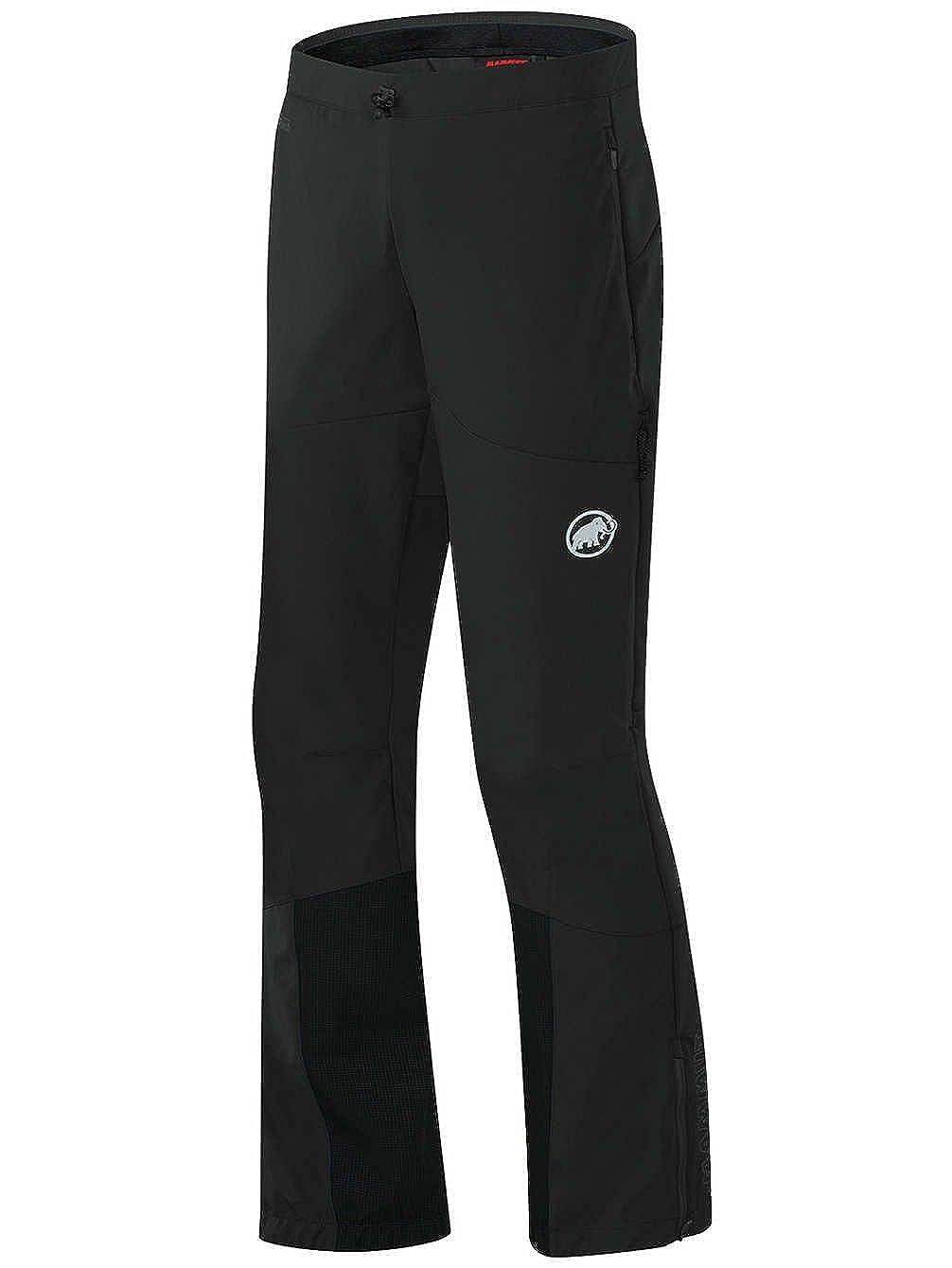 TALLA 44. Mammut Aenergy - Pantalones de Softshell para Hombre