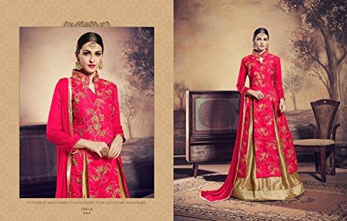 new deals offer indian girls kammez pakistani special women christmas anarkali suit dress salwar year best pink bollywood dqBwXx
