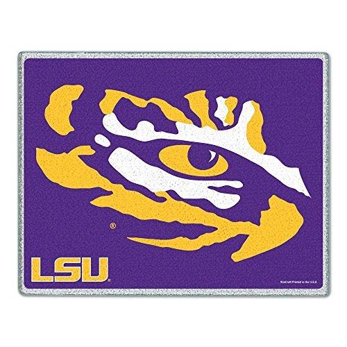 WinCraft NCAA Louisiana State University Glass Cutting Board 7