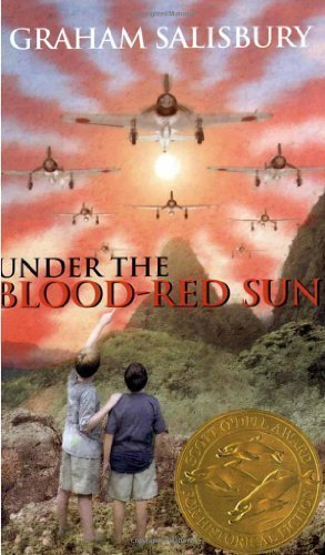 Under the Blood-Red Sun by Salisbury, Graham published by Laurel Leaf - Salisbury Shopping