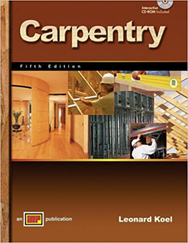 carpentry 5th edition leonard koel answer key