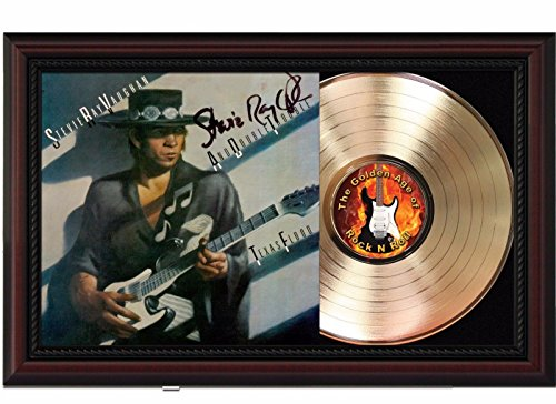 (Stevie Ray Vaughan Cherrywood Reproduction Signature Display M4)