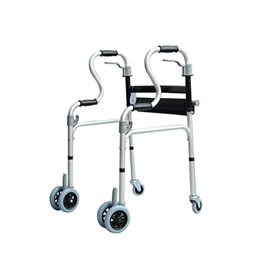 YSDHE Andador de Ruedas con Ruedas para discapacitados, con ...