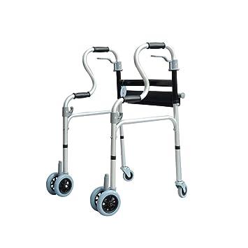 MXueei caminante ZfgG Andador de Ruedas con Ruedas para discapacitados, con Ruedas, para Personas Mayores: Amazon.es: Hogar
