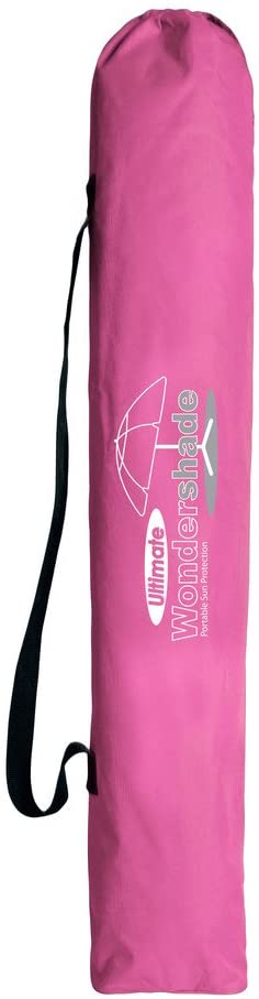Portable Sun Shade Pink Wondershade Ultimate