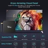 Android 9.0 TV Box,Pendoo TX6 Android TV Box 4GB