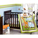 Little Bedding Crib Bedding Set, Critter Pals